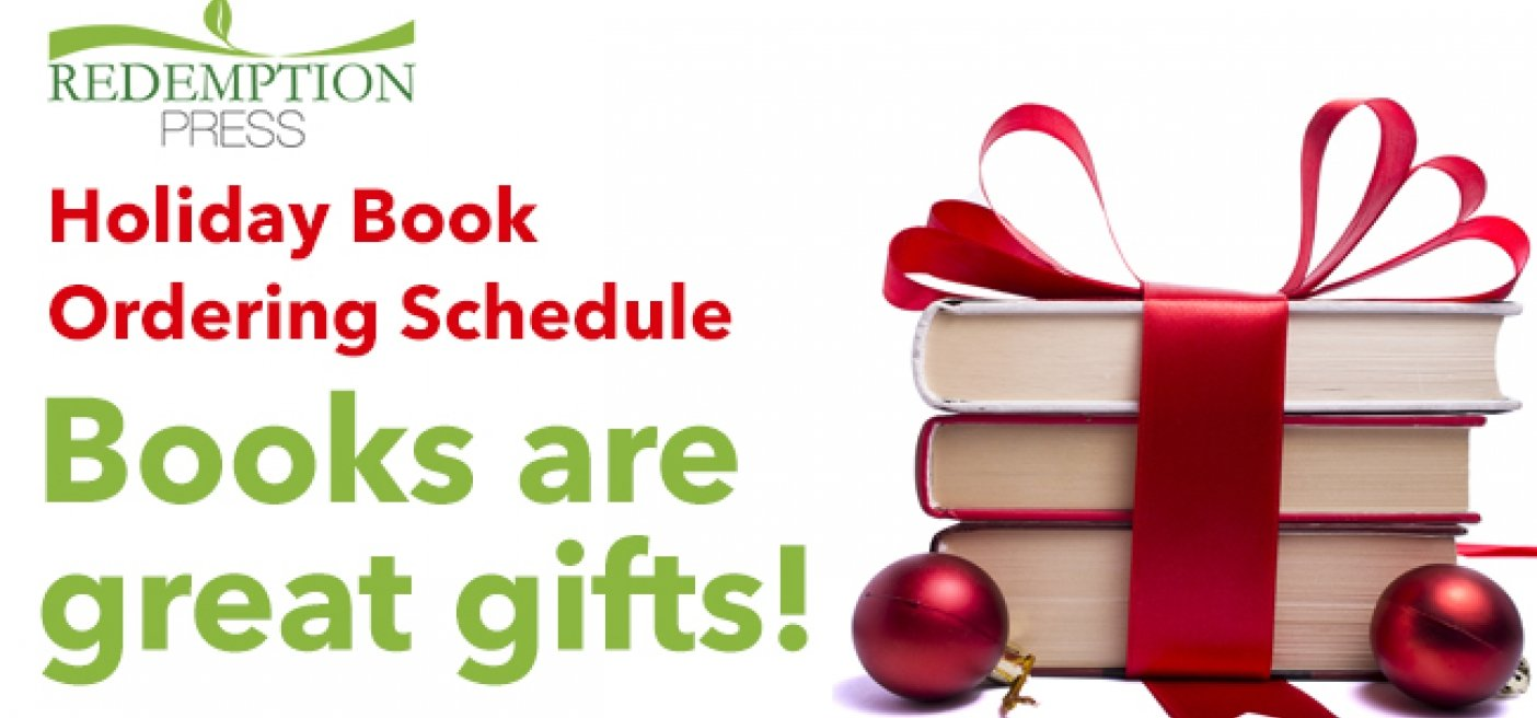 Holiday Book Ordering Schedule for Author Orders