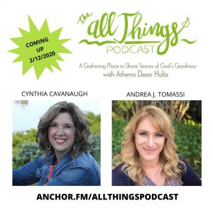 Daring to Dream – Bold Writing with Cynthia Cavanaugh & Andrea Tomassi – Episode 2