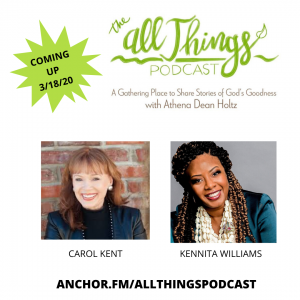 How God Used Great Loss & Betrayal to Bring Much Good with Carol Kent & Kennita Williams – Episode 8