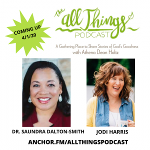 How God Worked Good from Depression and Church Hurt with Dr. Saundra Dalton Smith & Jodi Harris – Episode 12
