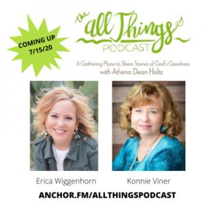 God redeems a struggle to read Scripture to a thriving Bible study ministry with Erica Wiggenhorn, and Konnie Viner's novel provides hope to women in hard places – Ep. 29