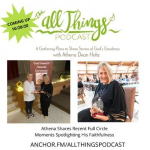 Athena Dean Holtz Shares Stunning Full Circle – Romans 8:28 Moments from Florida Trip – Ep 50