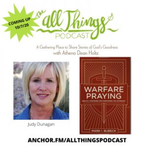 Judy Dunagan Shares Biblical Warfare Strategies for Those in Abusive Marriages – Episode 47