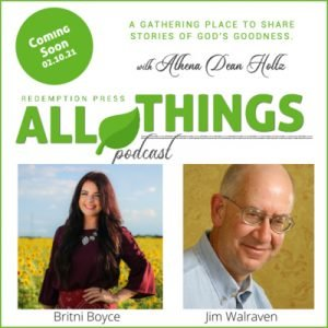 Two New Authors Britni Boyce and Jim Walraven share their Romans 8:28 Stories