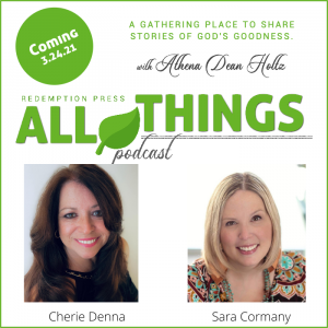 She Writes For Him: Stories Of Living Hope Authors Cherie Denna & Sara Cormany
