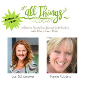Redemption Press Authors Lori Schumaker and Karrie Roberts share their Romans 8:28 stories