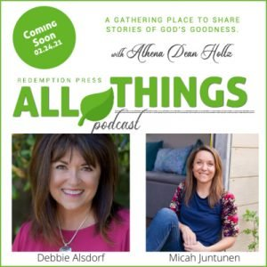 Meet Two New Redemption Press Team Members, Micah Juntunen and Debbie Alsdorf as they share their Romans 8:28 stories