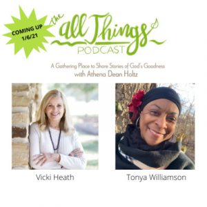 National Director of First Place For Health & Award Winning Author Vicki Heath and Redemption Press Author & Project Manager Tonya Williamson discuss the Wholeness and Health Within Our Bodies, OUR TE