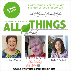 Are you believing that God will turn it around with Rita Davis, Teresa Moyer, and Jody Allen: