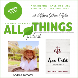 How to live boldly for Christ with Andrea Tomassi